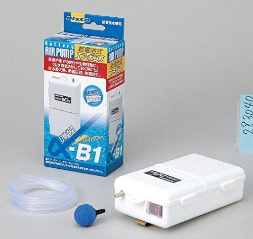 ニッソー 乾電池式エアーポンプ α-B1