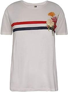 328169cf9 Moda - Transparente - Camisetas   Camisetas e Blusas na Amazon.com.br