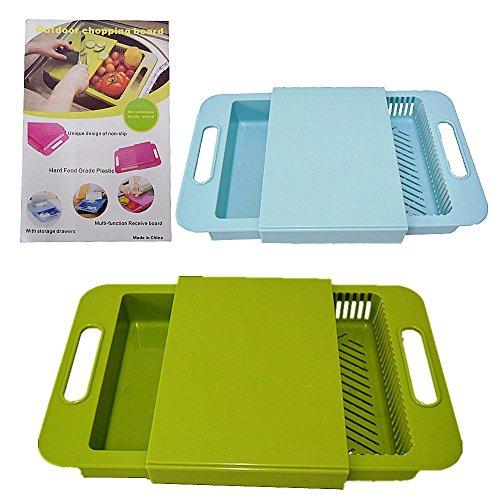 ON SHOPPY (LABEL) Multifunctional 3 in 1 Plastic Sliding Plate...