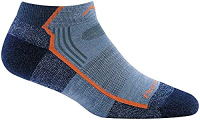 Darn Tough Hiker No Show Light Cushion Sock - Women's Denim Large