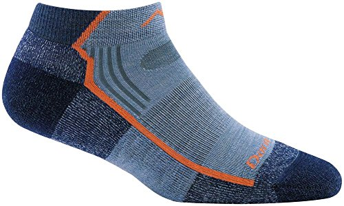 Darn Tough Hiker No Show Light Cushion Sock - Women's Denim Medium