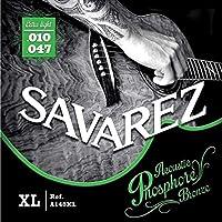 サバレス アコギ弦 フォスファーブロンズ弦 SAVAREZ Acoustic Guitar Phosphore Bronze Strings (A140XL エクストラライト 10-47, 1セット)