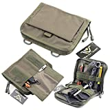 Warrior Quest Low Profile Organizer Pouch – Molle System Utility Pouches Tactical Medical Pouch Tools Accessories Pouch (Olive Drab Green)