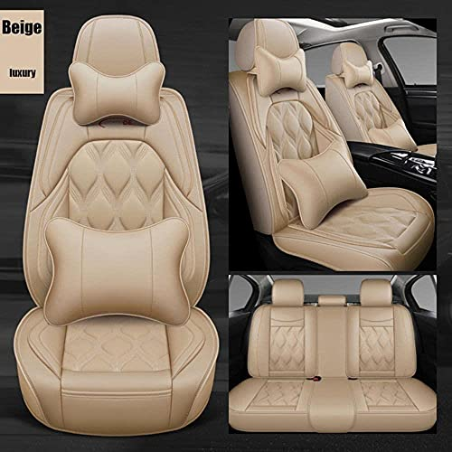 Karstry Fundas Asientos Coche Universales para Volkswagen Passat CC B6 B5 B8 VW Polo Golf 4 5 6 7 Mk4 Tiguan 2025 Camry....