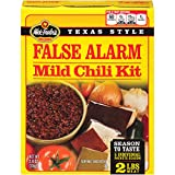 Wick Fowler's False Alarm Mild Chili Mix & Kit, 2.8 Ounces (Pack of 8)