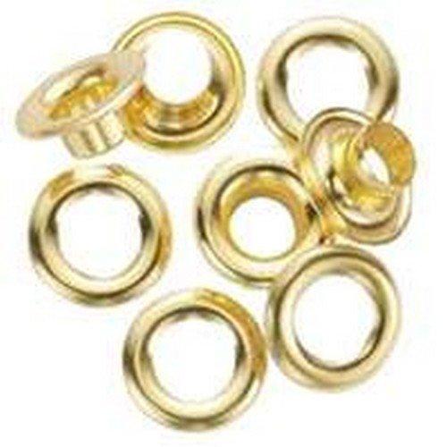General 1261-2#2 Brass Grommet Refills 24 Count
