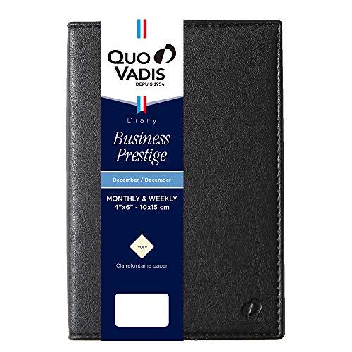 クオバディス2021年版12月始ビジネスプレステージマドラスブラックqv28508bk