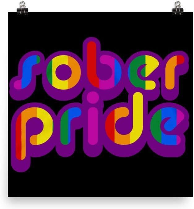 LGBT AA Symbol mart Super sale NA Logo Gay LGBTQ Poster Pride