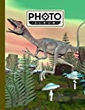 Photo Album: Large Photo Albums with Writing Space Memo, Extra Large Capacity Picture Album | Premium Compsognathus Dinosaur Cover by Gilbert Frey