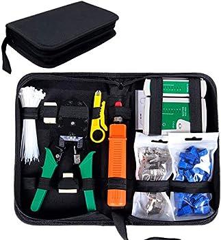 SGILE Network Tool Kit for Cat5/5e Black