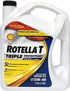 Rotella 550019913 T Triple Protection CJ-4 15W-40 Motor Oil - 1 Gallon