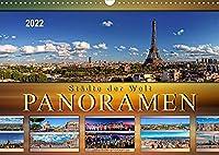 Staedte der Welt, Panoramen (Wandkalender 2022 DIN A3 quer): Eindrucksvolle Staedte der Welt in aussergewoehnlichen Panoramen. (Monatskalender, 14 Seiten )