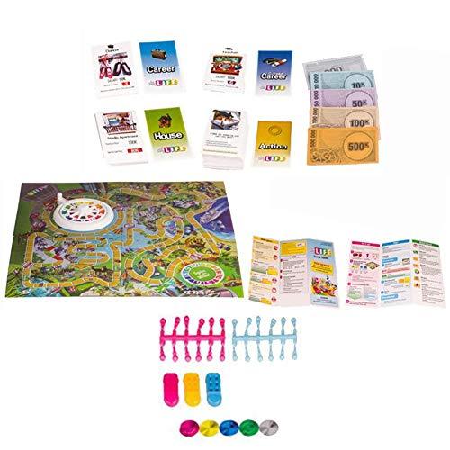 Lebens-brettspiel Karte Spiel Funny Great Family Gaming Cards Für Carrer Urlaub Choices Eltern-kind-interaktion Partei Freunde Des Erziehungsfamilienspiel Fördert Die Kreativität Und Sprachkenntnisse