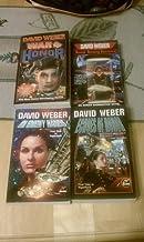 Set of 4 Honor Harrington Novels (Honor Among Enemies, War of Honor, Echoes of Honor, In Enemy Hands)