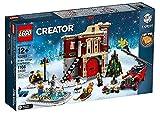 レゴ(LEGO)ウィンタービレッジ・ファイヤーステーション 消防署(Winter Village Fire Station)【10263】