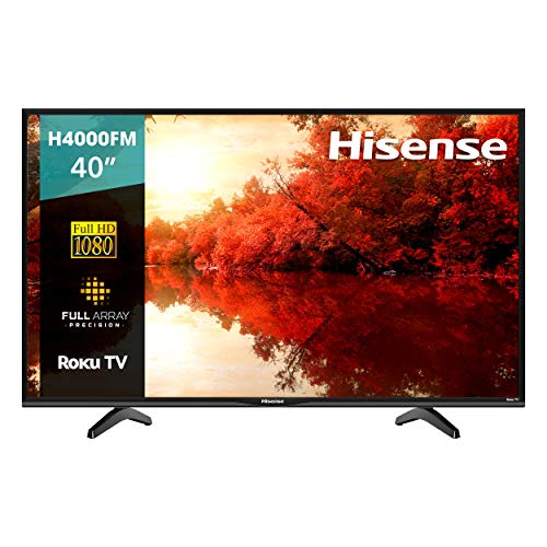 Hisense 40H4000FM Serie 4 40' Full HD, Smart TV, Roku TV, HDR10, Roku Search, (2019) (40')