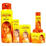 Carotone Light & Natural Brightening SET (5-PACK)Lotion, Cream, Tube, Oil, Soap