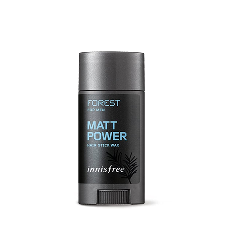 光チロ冷凍庫イニスフリーフォレストメンズヘアスティックワックス、マットパワー15g / Innisfree Forest for Men Hair Stick Wax, Matt Power 15g [並行輸入品][海外直送品]
