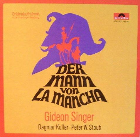 Der Mann von La Mancha (Originalaufnahme in der Hamburger Besetzung) [Vinyl LP] [Schallplatte]