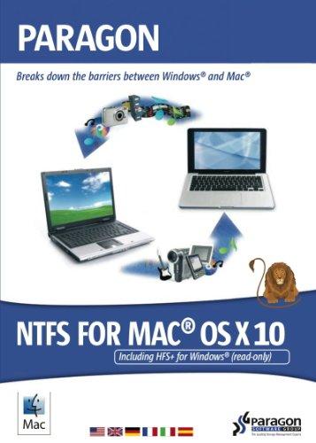 Paragon NTFS für Mac OS X 10