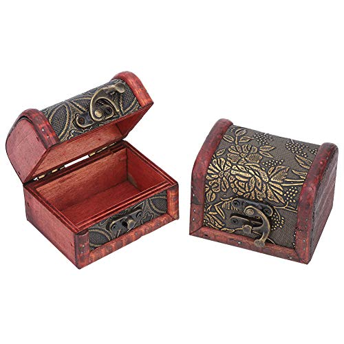 Eulbevoli Mini Caja de Almacenamiento, Regalo para Tus Amigas, Caja de Almacenamiento con Cierre para Guardar Joyas, Pulsera para Guardar Pendientes, Collar