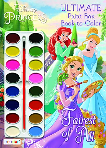 Disney Princess Official Ultimate Paintbox, Multicolor