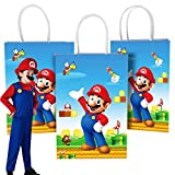 (12 Pack) Video Game Party Gift Bags Party...