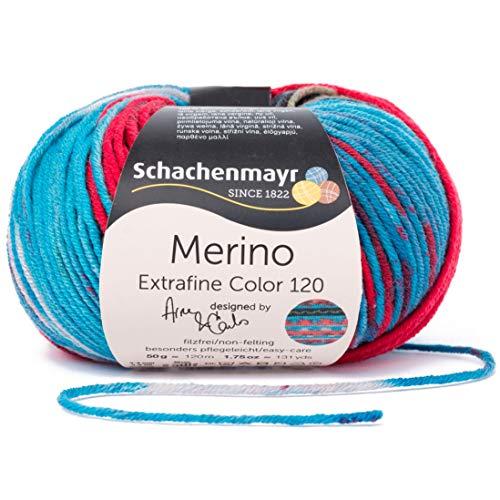 Schachenmayr Handstrickgarne Merino Extrafine 120 Color, 50g Ringebu