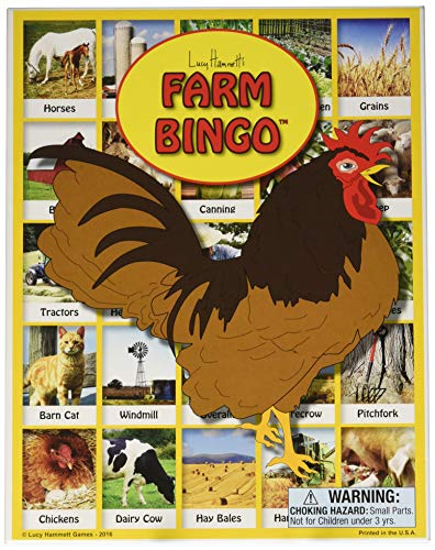 Farm Bingo Game by Lucy Hammett Games