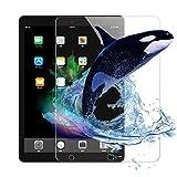 2枚入り Apple iPad (9.7インチ、2018/2017モデル、第6/5世代) iPad Air/iPad Air2/iPad Pro9.7 用 強化ガラス 液晶保護フィルム iPad 9.7インチ 日本旭硝子素材製 0.3mm 三倍強化 ガラス 液晶保護フィルム 硬度9H 気泡自動排除 スクラッチ 指紋防止