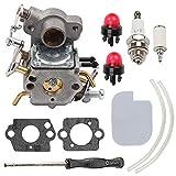 Wellsking 545070601 Carburetor for Zama W-26 C1M-W26C Poulan Pro PP3416 PP3516 PP3816 PP4018 PP4218 PPB3416 SM4218AV Gas Chainsaw # 545070601 545040701 +Adjustment Tool