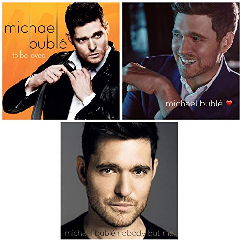 To Be Loved - Love - Nobody But Me - Michael Buble 3 CD Album Bundling