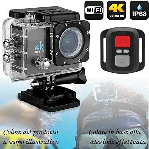 PRO Cam Caméra sous-marine 4K Ultra HD Wi-Fi DV 16MP 30m sport action mini caméra