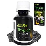 Organic Black Seed Oil Cold Pressed (Nigella Sativa) – 100% Pure and Natural – 3.34fl/oz. (100ml) –...