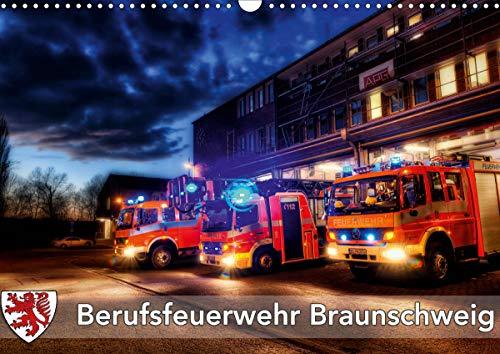 Berufsfeuerwehr Braunschweig (Wandkalender 2021 DIN A3 quer)