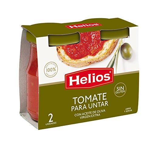Helios Estuche Tomate para Untar - Paquete de 2 x 140 gr - Total: 280 gr