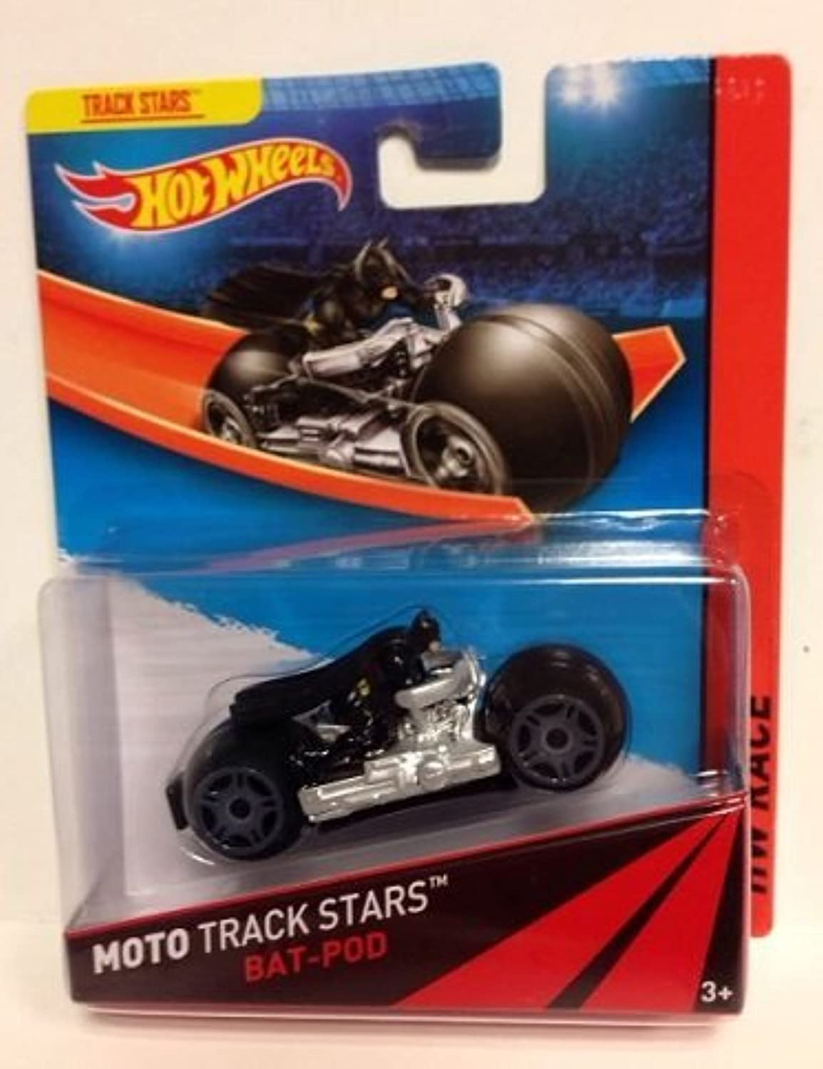 Hot Wheels Moto Track Stars  BatPod by Hot Wheels