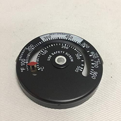 Holzofen Hochtemperatur Kamin Controller Kamin mechanische Thermometer Sicherheit Abgastemperatur