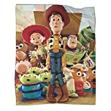 Toy Story Buzz Lightyear Plush Blankets as Gifts for Women or Men 30x40inch(80x100cm)