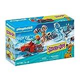 PLAYMOBIL SCOOBY-DOO! Aventura con Snow Ghost, A partir de 5 años (70706)
