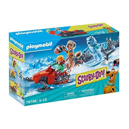 PLAYMOBIL SCOOBY-DOO! 70706 Fuga dallo Snow Ghost, Dai 5 anni