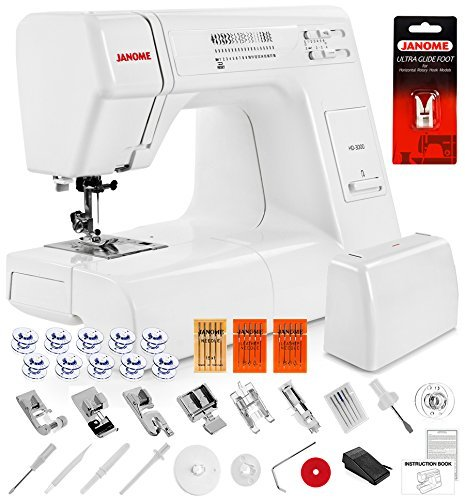 Janome HD3000 Heavy Duty Sewing Machine w/Hard...