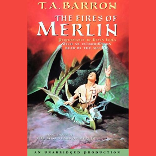 The Fires of Merlin audiobook cover art