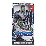 Action figure di Hulk da 30 cm con design ispirato al film Collega il pacchetto Titan Hero Power FX per attivare suoni e frasi (non incluso; venduto separatamente con le figure Titan Hero Power FX) Include porta di connessione Titan Hero Power FX Isp...