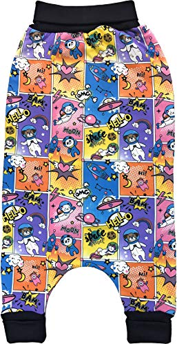 Balna Baby Kinder Strampelsack mit Füßen Comic Cartoon Tiere Laufsack Schlafsack Sommer Winter - Made in Germany (104/110) 3,5 bis 5 Jahre