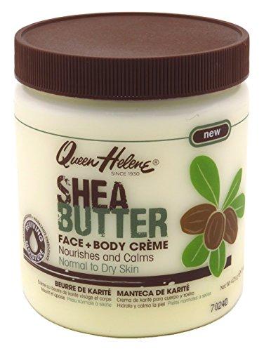 Queen Helene Jar Cream Shea Butter 15 Ounce (443ml) (2 Pack)