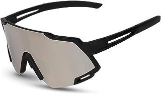 comprar comparacion GARDOM Gafas de Ciclismo Hombres Mujeres, Gafas de Sol Deportivas con 5 Lentes Intercambiable para Correr Pescar Escalar E...