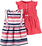 Product Image of the Carter's Baby Girls' 2-Pack Jersey Summer Dresses Multi Stripe 3M