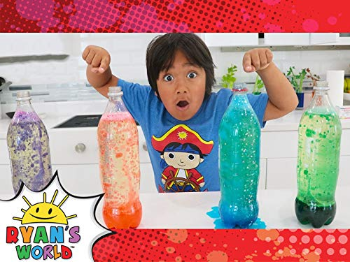 Ryan Makes a DIY Lava Lamp!
