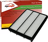 EPAuto GP918 (CA8918) Replacement for Toyota / Lexus Extra Guard Panel Engine Air Filter for 4 Runner (2003-2009), Land Cruiser (1998-2007), Sequoia (2001-2007), GX470 (2003-2009), LX470 (1998-2007)